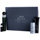 Perry Ellis 360° Black Geschenkset I. Eau de Toilette 100 ml + Eau de Toilette 7,5 ml + After Shave Balsam 90 ml + Deo-Stick 78 g