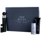 Perry Ellis 360° Black Geschenkset I. Eau de Toilette 100 ml + Eau de Toilette 7,5 ml + After Shave Balsam 90 ml + Deo-Stick 78 g