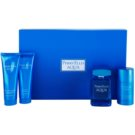 Perry Ellis Aqua Gift Set I. Eau De Toilette 100 ml + Shower Gel 90 ml + After Shave Gel 90 ml + Deodorant Stick 78 g