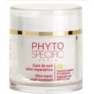 Phyto Specific Specialized Care éjszakai regeneráló maszk a sérült, töredezett hajra (Ultra-repair Night Treatment) 75 ml