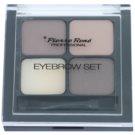Pierre René Eyes Eyebrow paleta za ličenje obrvi odtenek 01 Brown 4,5 g