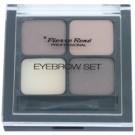 Pierre René Eyes Eyebrow палитра за вежди цвят 01 Brown 4,5 гр.