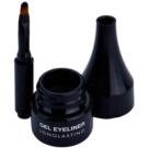Pierre René Eyes Eyeliner zselés szemhéjtus vízálló árnyalat 01 Carbon Black (Gel Eyeliner Longlasting) 2,5 ml