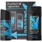 Playboy Generation Geschenkset V.  Deo-Spray 150 ml + Duschgel 250 ml