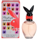 Playboy Generation eau de toilette nőknek 75 ml
