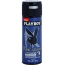 Playboy King Of The Game deodorant Spray para homens 150 ml