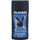 Playboy King Of The Game Duschgel für Herren 250 ml