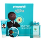 Playmobil Super4 Gene coffret I. Eau de Toilette 100 ml + gel para cabelo 50 ml + gel de duche 50 ml