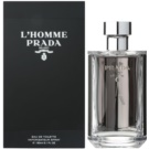 Prada L'Homme Eau de Toilette para homens 150 ml