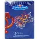 Primeros Delay condones lubricados efecto placer prolongado 3 ud