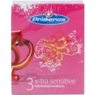 Primeros X-tra Sensitive preservativos extras finos (Sensitive) 3 un.
