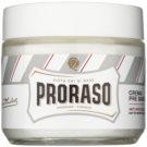 Proraso White creme de pré barbear para pele sensível  100 ml