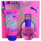 Puma Jam Woman coffret II. Eau de Toilette 20 ml + gel de duche 50 ml
