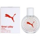 Puma Time To Play Eau de Toilette para mulheres 40 ml