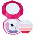 Pupa Snow Queen Crystal Diamond Palette mit Make up für Augen und Lippen Farbton 006 Fucsia Scuro 7,5 g