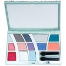 Pupa Princess Pochette кутия с декоративна козметика цвят 005 Silver 12,8 гр.