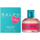 Ralph Lauren Love Eau de Toilette für Damen 100 ml