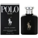 Ralph Lauren Polo Black Eau de Toilette para homens 75 ml
