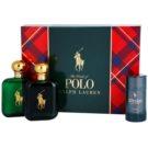 Ralph Lauren Polo Green подарунковий набір І Туалетна вода 118 ml + Вода після гоління 118 ml + дезодорант-стік 75 ml