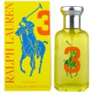 Ralph Lauren The Big Pony Woman 3 Yellow Eau de Toilette pentru femei 50 ml