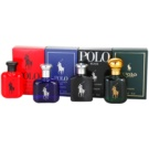 Ralph Lauren The World of Polo Fragrances dárková sada I. Red + Blue + Black + Green toaletní voda 4 x 15 ml
