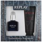 Replay Essential dárková sada I. toaletní voda 30 ml + sprchový gel 100 ml