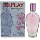 Replay Jeans Spirit! For Her Eau de Toilette pentru femei 40 ml