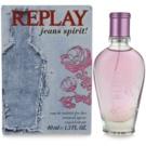 Replay Jeans Spirit! For Her Eau de Toilette para mulheres 40 ml