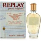 Replay Jeans Original! For Her Eau de Toilette para mulheres 40 ml
