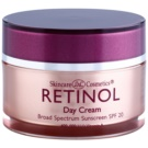 Retinol Anti-Aging creme de dia protetor contra envelhecimento de pele SPF 20 (Vitamins A, C and E, Glycerin, Silk Amino Acids) 48 g