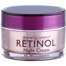Retinol Anti-Aging ráncfeltöltő éjszakai krém az öregedés jelei ellen (Vitamins A, C and E, Glycerin and Silk Amino Acids) 48 g