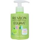 Revlon Professional Equave Kids champô hipoalergénico 2 em 1 para crianças  apartir dos 3 anos  300 ml
