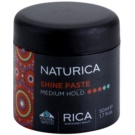 Rica Naturica Styling pasta moldeadora con brillo Medium Hold (Shine Paste) 50 ml