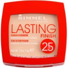Rimmel Lasting Finish 25H pudra foarte usoara culoare 004 Light Honey (Waterproof) 7 g
