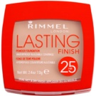 Rimmel Lasting Finish 25H ultra leichter Puder Farbton 005 Warm Honey (Waterproof) 7 g