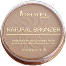 Rimmel Natural Bronzer wasserfester Bronzierpuder SPF 15 Farbton 022 Sun Bronze 14 g