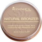 Rimmel Natural Bronzer wasserfester Bronzierpuder LSF 15 Farbton 022 Sun Bronze 14 g