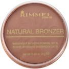Rimmel Natural Bronzer polvos resistentes al agua efecto bronceado SPF 15 tono 026 Sun Kissed 14 g