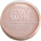 Rimmel Stay Matte Puder Farbton 002 Pink Blossom (Long Lasting Pressed Powder) 14 g