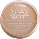Rimmel Stay Matte puder odtenek 004 Sandstorm  14 g