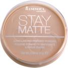 Rimmel Stay Matte puder odtenek 005 Silky Beige  14 g