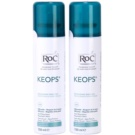 RoC Keops dezodorant v pršilu 24 ur (Fresh Spray Secco) 2 x 150 ml