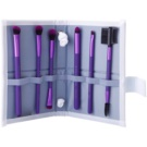 Royal and Langnickel Moda Beautiful Eyes Pinselset Purple (Professional Makeup Brush Set) 6 St.