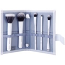 Royal and Langnickel Moda Perfect Mineral set de pincéis White (Professional Makeup Brush Set) 6 un.