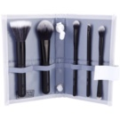 Royal and Langnickel Moda Perfect Mineral set de pincéis Black (Professional Makeup Brush Set) 6 un.