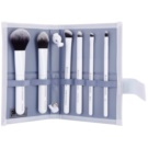 Royal and Langnickel Moda Total Face sada štětců White (Professional Makeup Brush Set) 6 Ks