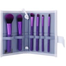 Royal and Langnickel Moda Total Face sada štětců Purple (Professional Makeup Brush Set) 7 Ks
