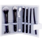 Royal and Langnickel Moda Total Face sada štětců Black (Professional Makeup Brush Set) 6 Ks