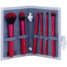 Royal and Langnickel Moda Total Face set čopičev Pink (Professional Makeup Brush Set) 6 kos