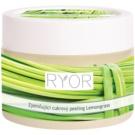 RYOR Lemongrass zjemňující cukrový peeling na tělo  325 g